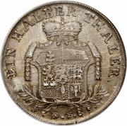 ½ Thaler - Wilhelm IX – reverse