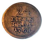 1/24 Thaler - Friedrich II – reverse