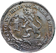 1/12 Thaler - Friedrich II – obverse