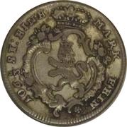 ⅛ Thaler - Friedrich II – obverse