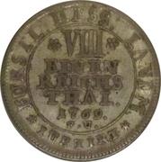 ⅛ Thaler - Friedrich II – reverse