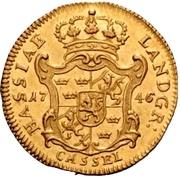 1 Ducat - Friedrich I. – reverse