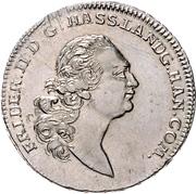 ½ Thaler - Friedrich II (Halber Sterntaler/half Blooddollar) – obverse