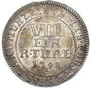 ⅛ Thaler - Friedrich I – reverse