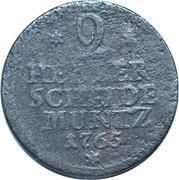 2 Heller - Friedrich II – reverse