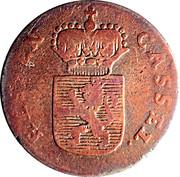 ½ Kreuzer - Friedrich II – obverse