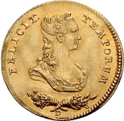 1 Ducat - Friedrich II. (Wedding) – obverse