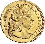 ½ Ducat - Friedrich I. – obverse