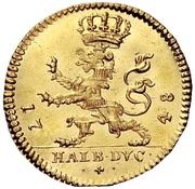 ½ Ducat - Friedrich I. – reverse