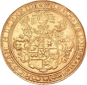 10 Ducat - Wilhelm V. (Gold pattern strike) – obverse