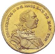 1 Ducat - Friedrich II. (Edergold Dukat) – obverse
