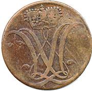 3 Heller - Wilhelm IX. – obverse