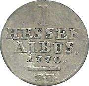 1 Albus - Friedrich II – reverse