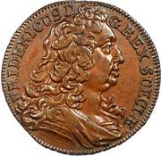 3 Heller - Friedrich I. – obverse