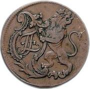 8 Heller - Friedrich II. – obverse
