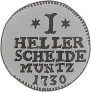 1 Heller - Friedrich I – reverse