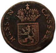 ¼ Kreuzer - Friedrich II – obverse