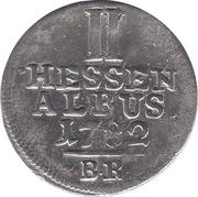2 Albus - Friedrich II – reverse