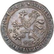 1 Thaler - Wilhelm V. (Weidenbaumtaler) – obve