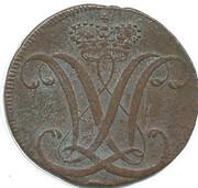 1 Heller - Wilhelm IX – obverse