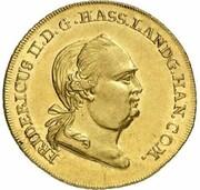 2 Friedrichs d'Or - Friedrich II. (Stern - Pistole) – obverse