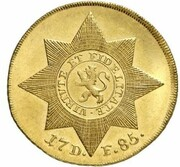 2 Friedrichs d'Or - Friedrich II. (Stern - Pistole) – reverse