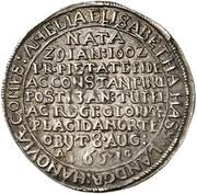 ⅛ Thaler - Wilhelm V. (Death of Amalia Elisabeth) – obverse