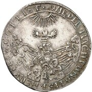 ⅛ Thaler - Wilhelm V. (Death of Amalia Elisabeth) – reverse