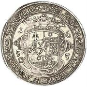 1 Thaler - Wilhelm VI (Schiffstaler) – reverse
