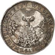 1 Thaler - Wilhelm V (Death) – reverse