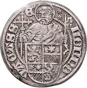 1 Albus - Wilhelm II. (Petersgroschen) – reverse