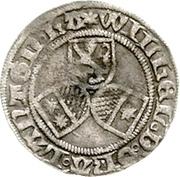 ½ Albus - Wilhelm II (halber Petersgroschen) – obverse