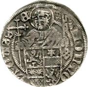 ½ Albus - Wilhelm II. (halber Petersgroschen) – reverse