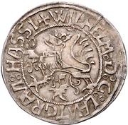 1 Albus - Wilhelm II. – obverse