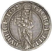 ¼ Guldengroschen - Wilhelm II. – reverse
