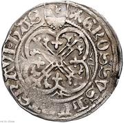 1 Groschen - Heinrich III. zu Marburg – reverse