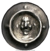 1 Pfennig - Heinrich II. (Hohlpfennig) – obverse