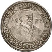 1 Thaler - Ludvig IV. – obverse