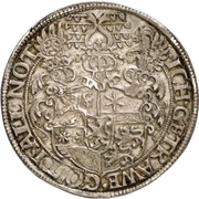 1 Thaler - Ludvig IV. -  reverse