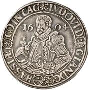 """½ Thaler - Ludwig IV., """"der Ältere"""" – obverse"""