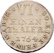 ⅙ Thaler - Friedrich Wilhelm von Westphalen – reverse