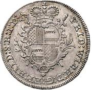 ⅓ Thaler - Friedrich Wilhelm von Westphalen – obverse