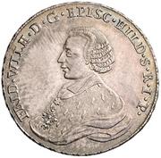 ⅔ Thaler - Friedrich Wilhelm von Westphalen – obverse