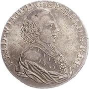 1 Thaler - Friedrich Wilhelm von Westfalen – obverse