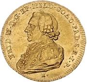 1 Ducat - Friedrich Wilhelm von Westfalen – obverse