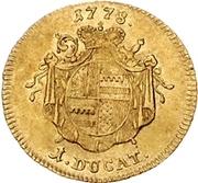 1 Ducat - Friedrich Wilhelm von Westfalen – reverse