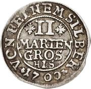 2 Mariengroschen - Jobst Edmund von Brabeck – reverse