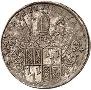 1 Thaler -  Jobst Edmund von Brabeck – reverse