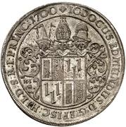 1 Thaler - Jobst Edmund von Brabeck (Ausbeutetaler) – obverse