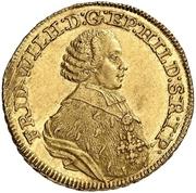 5 Thaler - Friedrich Wilhelm von Westfalen (Pistole) – obverse
